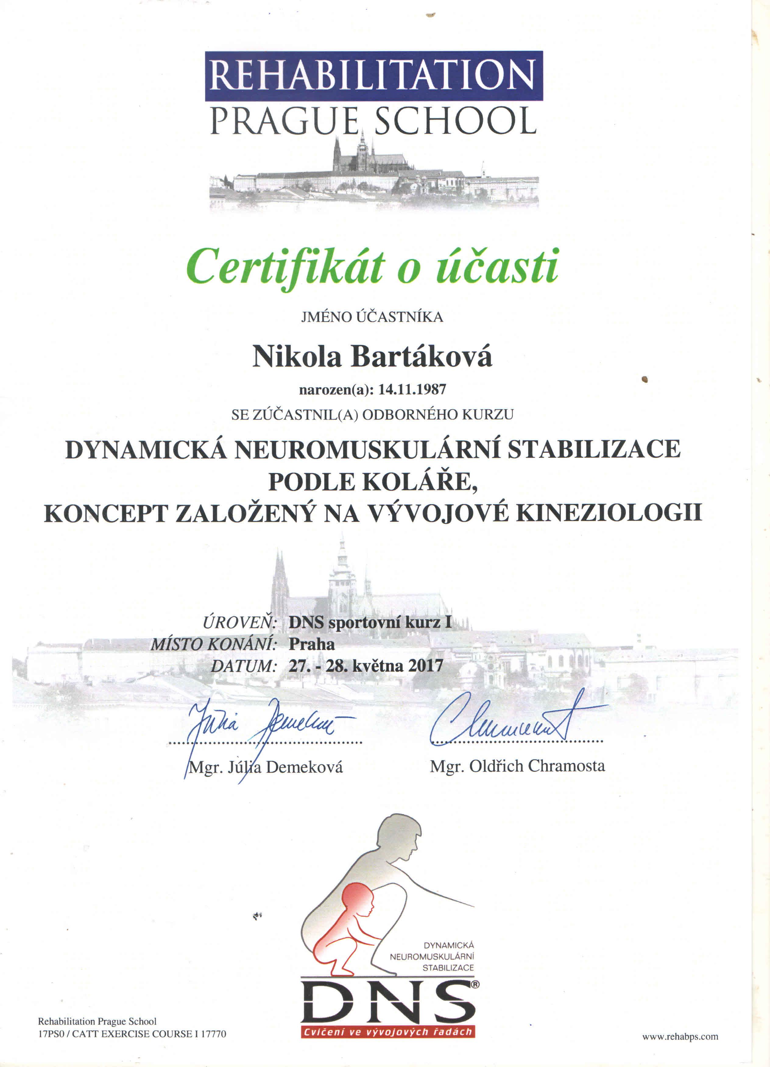 Certifikat kolar